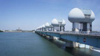 1995年5月23日、長良川河口堰の運用開始日