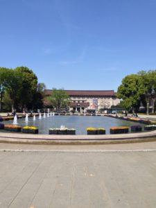 1876年5月29日は、東京の上野公園開園日