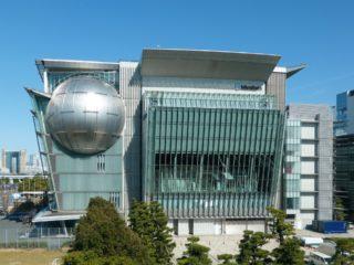 2001年7月10日、「日本科学未来館」開館の日